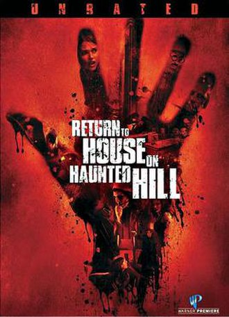 Return to House on Haunted Hill - DVD cover