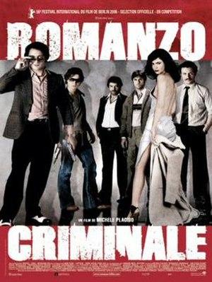 Romanzo Criminale - Movie poster for Romanzo criminale