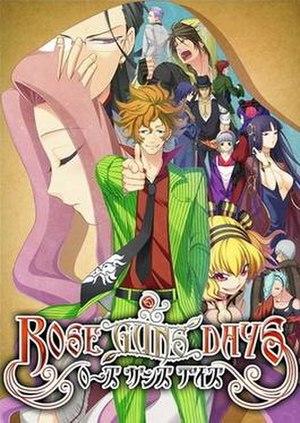 Rose Guns Days - Image: Rose Guns Days cover