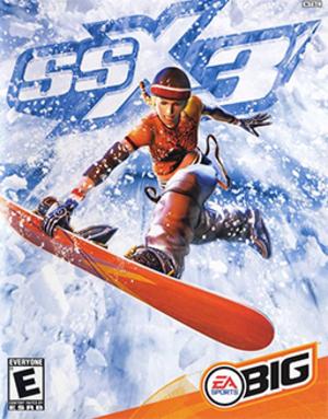 SSX 3 - Image: SSX 3 Coverart