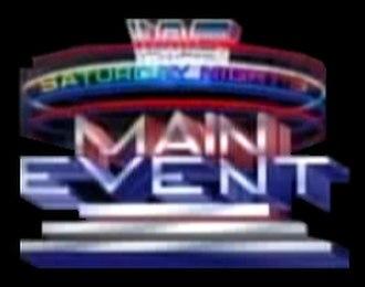 Saturday Night's Main Event - The Fox era logo, 1992