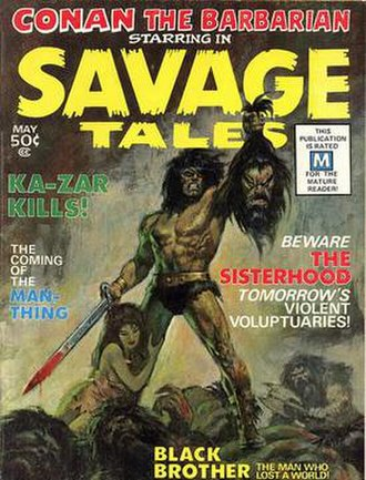 Savage Tales - Image: Savage Tales 1