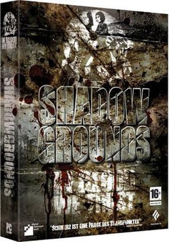 Shadowgrounds - German cover art