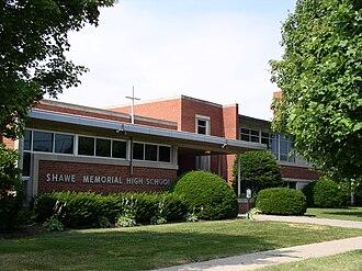 Shawe Memorial High School - Facade