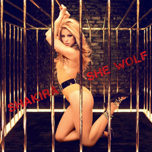 She Wolf (Shakira song) - Image: She Wolf single cover