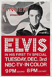 1968 United States television special directed by Steve Binder staring Elvis Presley