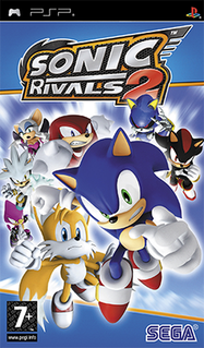 <i>Sonic Rivals 2</i> 2007 video game