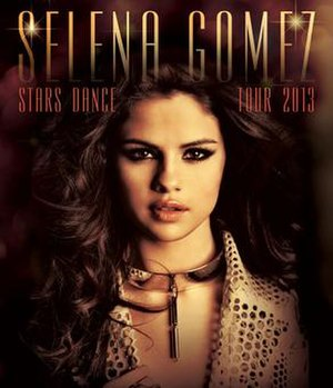 Stars Dance Tour - Promotional poster for the tour