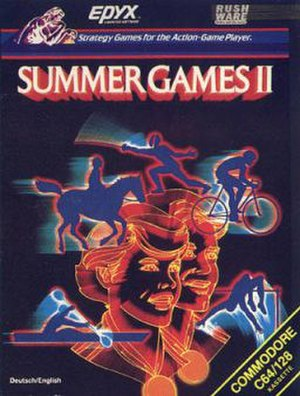 Summer Games II - Image: Summer Games 2 cover