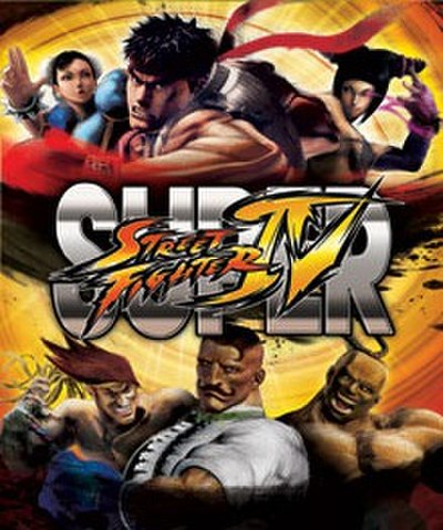 Picture of a game: Super Street Fighter IV