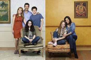 The main cast of Switched at Birth