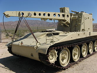 General George S. Patton Memorial Museum - Image: Tank Tow Truck