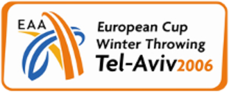 2006 European Cup Winter Throwing - Official logo