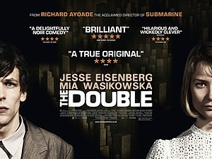 The Double (2013 film) - British poster