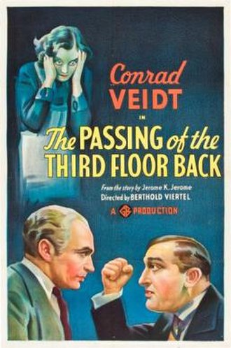 The Passing of the Third Floor Back - Film Poster
