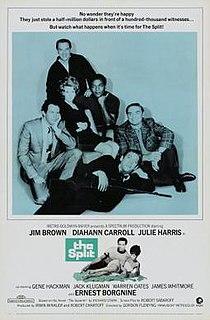 <i>The Split</i> (film) 1968 film by Gordon Flemyng