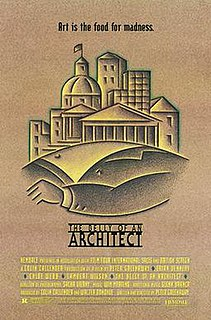 <i>The Belly of an Architect</i> 1987 film by Peter Greenaway