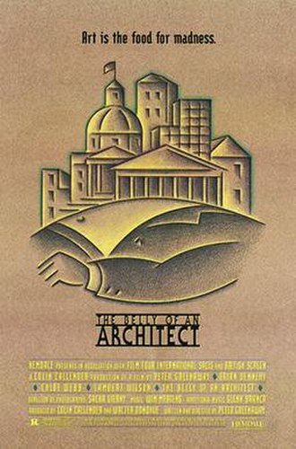 The Belly of an Architect - DVD cover