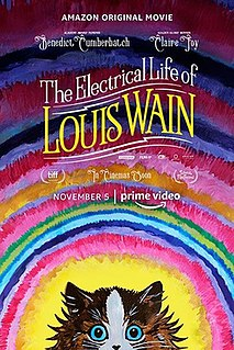 <i>The Electrical Life of Louis Wain</i> upcoming biographical film