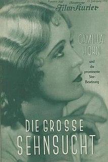 <i>The Great Longing</i> 1930 film