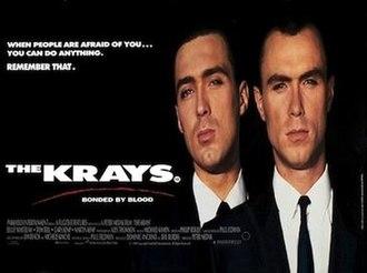The Krays (film) - Original UK theatrical release poster