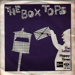 The Letter (The Box Tops song) - Image: The Letter (The Box Tops single) coverart