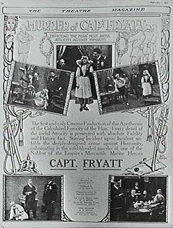 <i>The Murder of Captain Fryatt</i> 1917 film by John Gavin