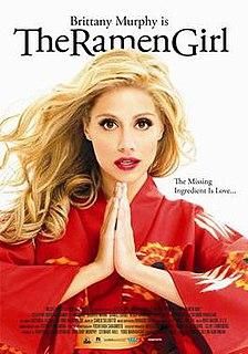 <i>The Ramen Girl</i> 2008 romantic comedy-drama film by Robert Allan Ackerman