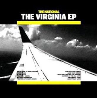 The Virginia EP - Image: The Virginia EP Cover