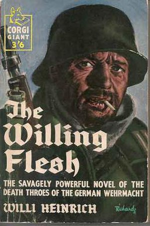 The Willing Flesh - Cover from UK paperback