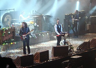 The Killers - The band during their first arena tour in 2007.