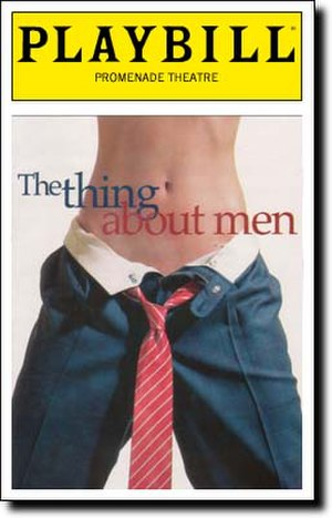 The Thing About Men - Playbill Logo
