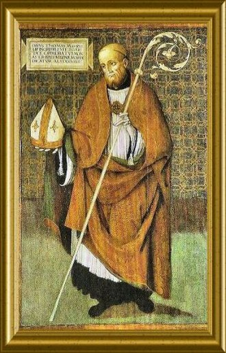 Thomas of Maurienne - An imaginary portrait of Thomas of Maurienne.