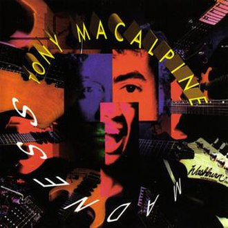Madness (Tony MacAlpine album) - Image: Tony Mac Alpine 1993 Madness