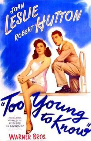 Too Young to Know - Theatrical release poster