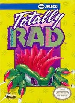 Image result for totally rad nes