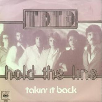 Hold the Line - Image: Toto hold the line (ger)