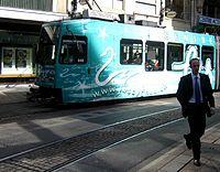 The Geneva tram