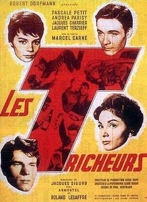 Young Sinners (1958 film) - Image: Tricheurs (1958)