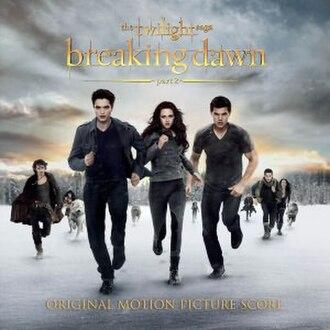 The Twilight Saga: Breaking Dawn – Part 2 (soundtrack) - Image: Twilight Breaking Dawn Part 2Score