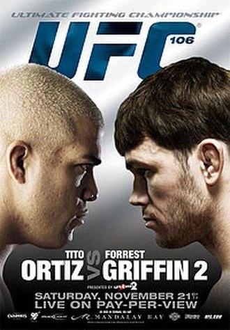 UFC 106 - Image: UFC 106 Ortiz vs Griffin 2 poster