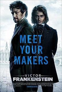 <i>Victor Frankenstein</i> (film) 2015 film by Paul McGuigan