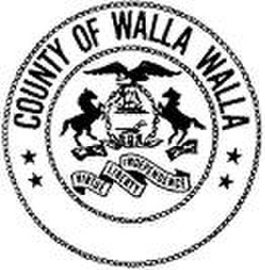 Walla Walla County, Washington - Image: Walla Walla County wa seal