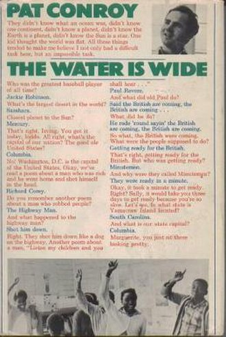The Water Is Wide (book) - First edition (Houghton Mifflin)