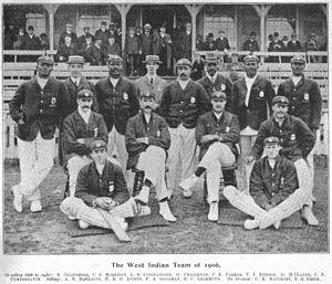 West Indian cricket team in England in 1906 - 1906 West Indies Team