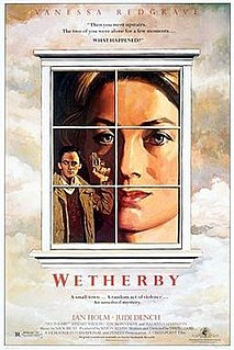 <i>Wetherby</i> (film) 1985 film by David Hare
