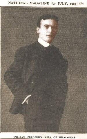 William F. Kirk - Image: William F. Kirk of Milwaukee