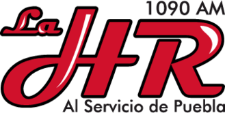 XEHR-AM - Image: XEHR La HR1090AM logo