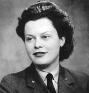 Yvonne Baseden - in uniform