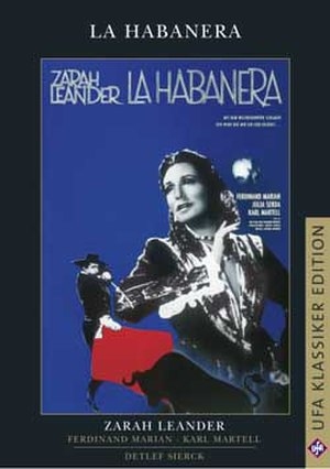La Habanera (film) - Cover
